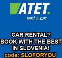 Book with the best car rental in Slovenia!