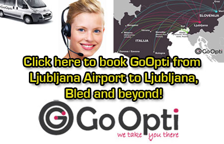 Book GoOpti to get to Lake Bled!