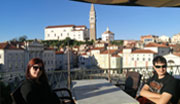 Stay at the Hotel Tartini in Piran