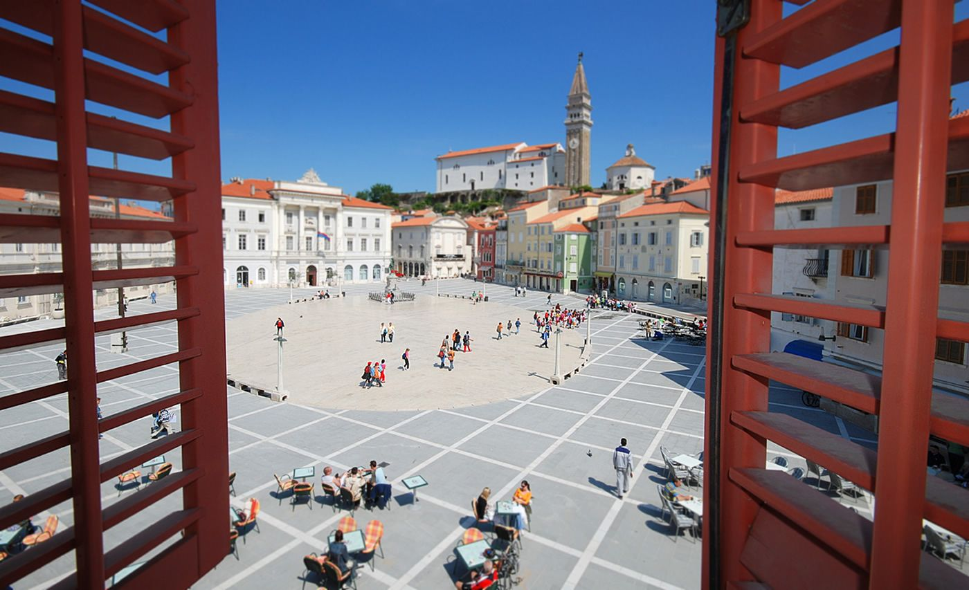 Stay at Hotel Tartini in Piran