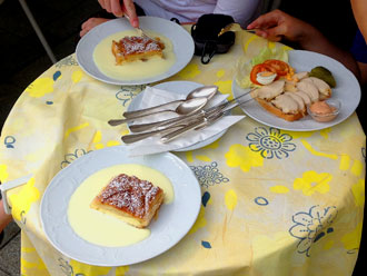 Salzburg is famous for dining, including Strudel