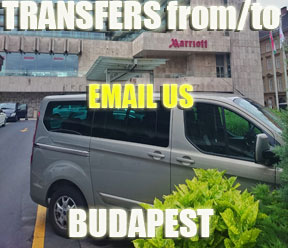 Email us for Transfers from or to Budapest