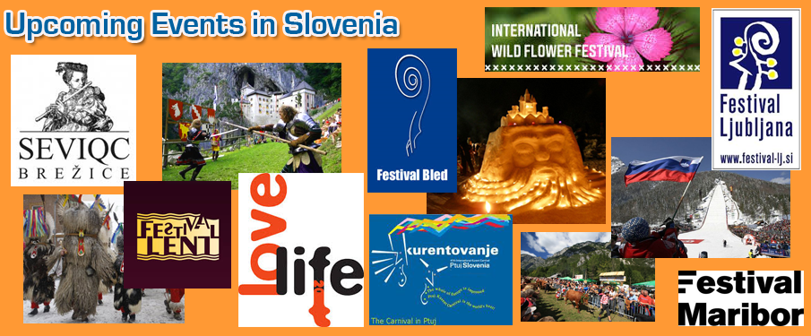 Check out the annual events and festivals in Slovenia!
