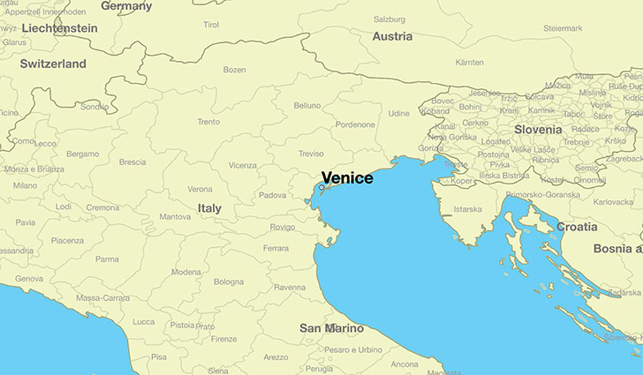 Map Of Italy Showing Venice.Venice Italy What To Do Top Attractions Tours And More