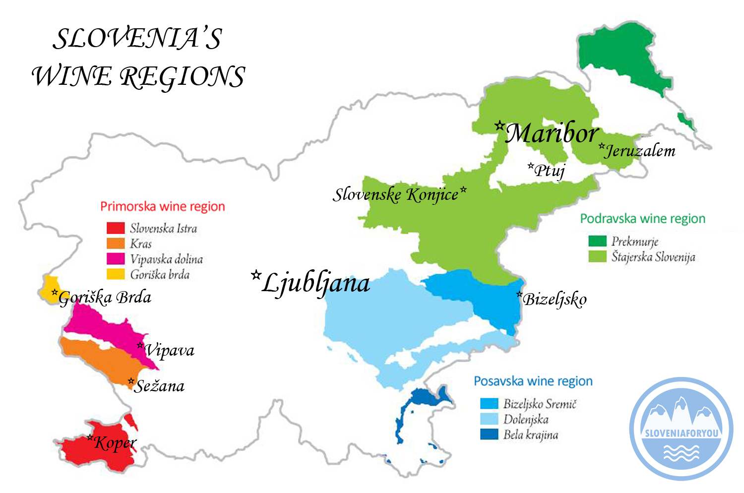 Picture of: Wine Regions Of Slovenia Sloveniaforyou S Ultimate Guide To Vino Wine In Slovenia