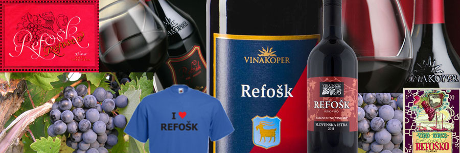 Istra's red Wines - Refosk