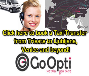 Use our GoOpti link for Transfers from or to Trieste