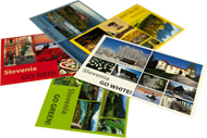 SLOVENIA IN COLOURS - Beautiful Series of postcards from Slovenija